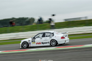 BMW 320i at Silverstone