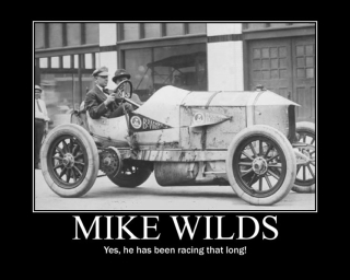 Mike Wilds racing career