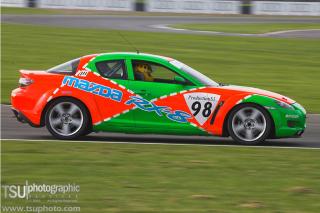 Mike Racing a Mazda
