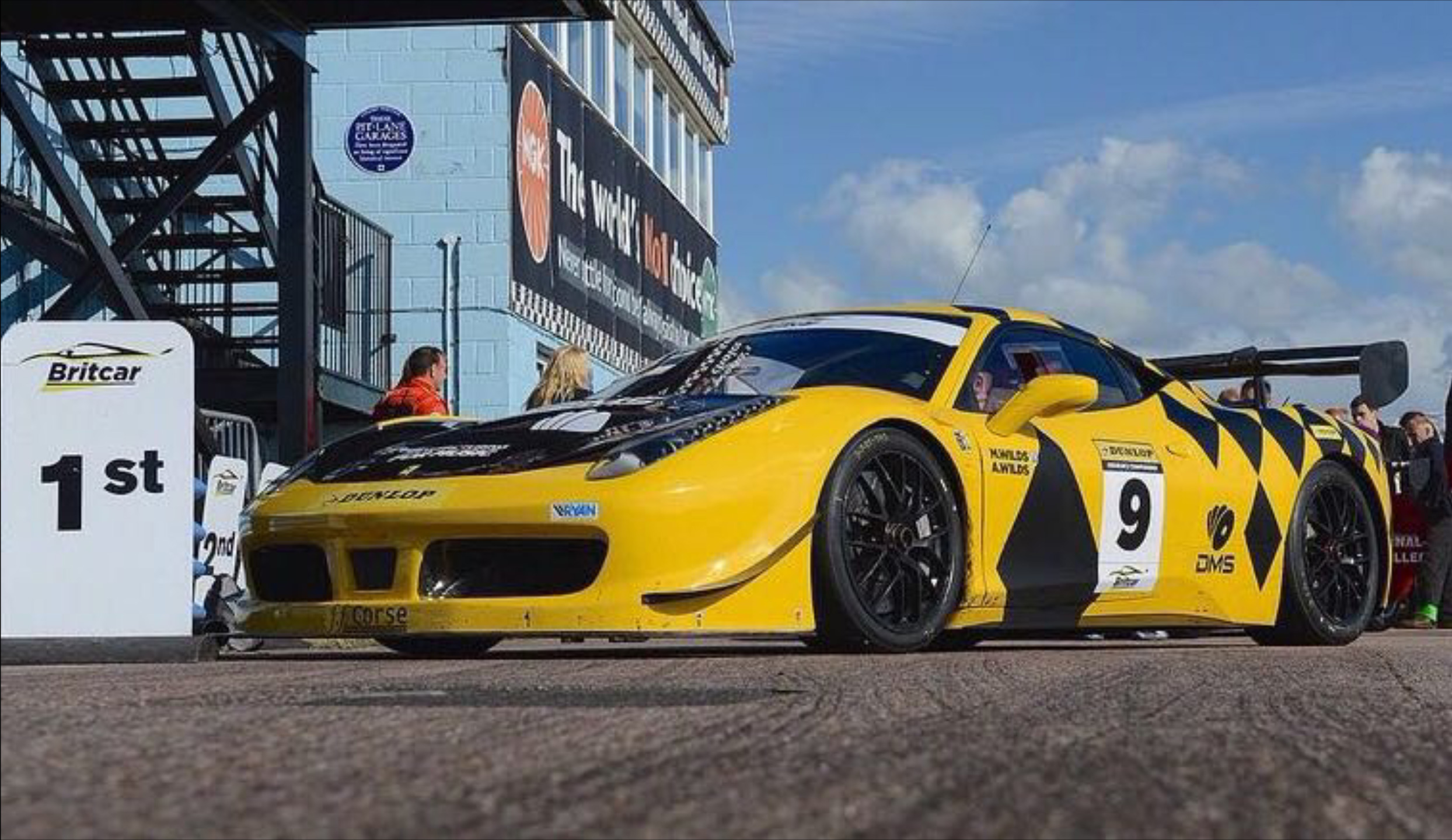 Class 2 of the 2016 Britcar_Dunlop Endurance Championship in a Ferrari 458GTC Evo