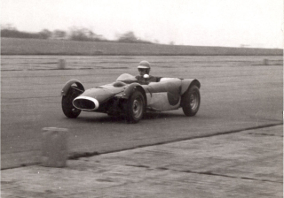 Mike Wilds first ever drive on track