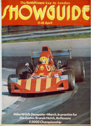 March F5000 Showguide